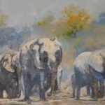 269 MARCHING ELEPHANTS